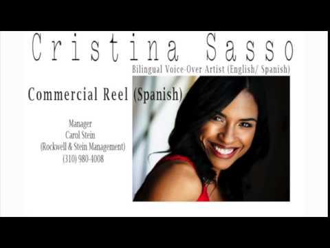 Cristina Sasso Spanish Commercial VO Reel