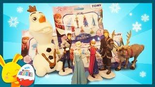 La Reine des neiges - Pochettes surprises - Unboxing frozen –Titounis