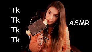 АСМР Звуки Рта -  Тк Тк, Тык Тык - С Ушка на Ушко / ASMR Mouth Sounds - Tk, Tk, Tk - From Ear to Ear