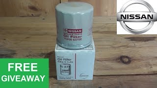 Nissan Oil Filter Review and Giveaway