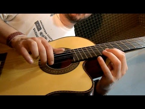 Guitarra Alpujarra 85 Kec - Test por Jesús Amaya...