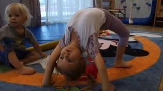 Уроки фізкультури на домашньому навчанні. 1 клас: гімнастика, скелелазання, дитяча йога