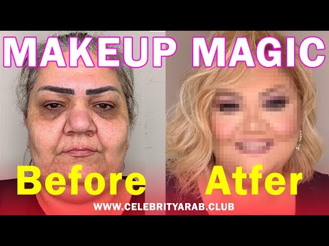 extreme-beauty-makeup-tutorial-before-and-after-شاهد-كيف-يغير-الميكاب-شكل-النساء
