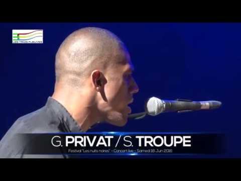 EXTRAIT du Festival Nuits Noires:  GREGORY PRIVAT 18 06 2016