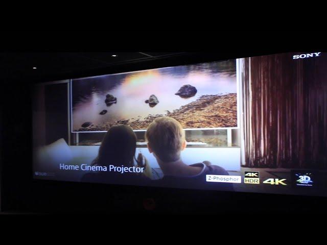 Sony 4K Home Cinema Projector Training