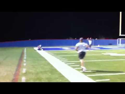 VA Lions Zack Terrell 48yd pass