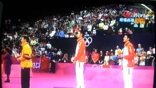 恭喜超級丹贏得2012年倫敦奧運男子羽毛球單打冠軍