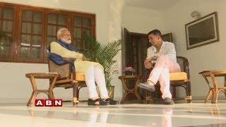 Akshay Kumar's Interview With PM Narendra Modi | ABN Telugu