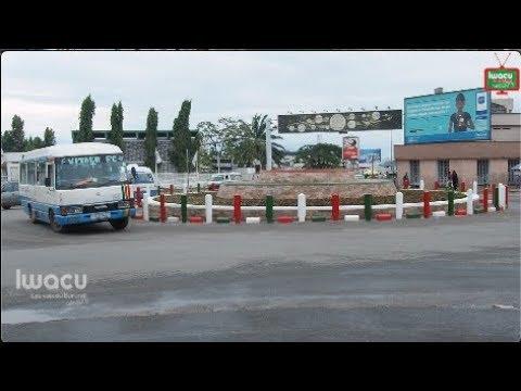 Un nouveau rond-point au centre ville de Bujumbura