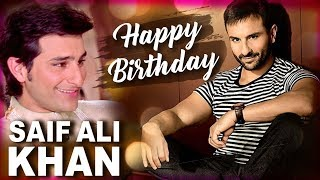 Happy Birthday Saif Ali Khan   Best Scenes Of Saif Ali Khan   Hum Saath Saath Hain Hindi Movie