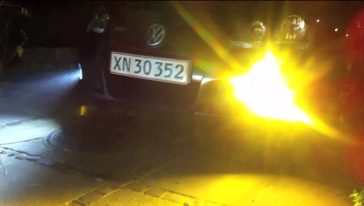 Halogen Light Vs Led >> Xenon HID 3000k vs 4300k - YouTube