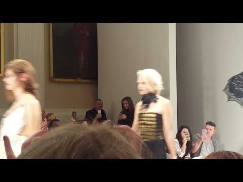 Fashion catwalk London with Jimmy Choo