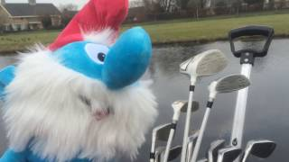 Golf Head covers for during your golf play (Additional video to use as hand puppet)