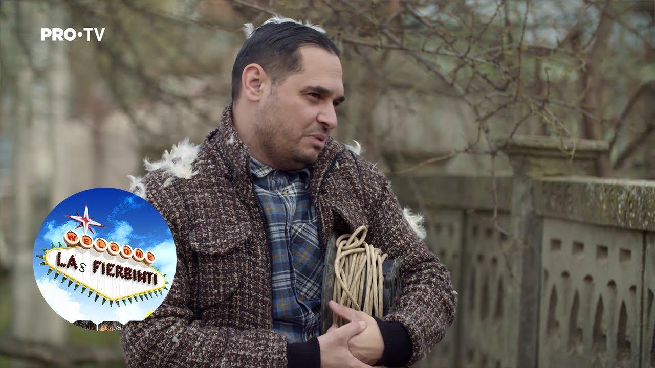 Las Fierbinți - Dorel îl plătește pe Brânzoi să-l lase să-i facă curat în coteț