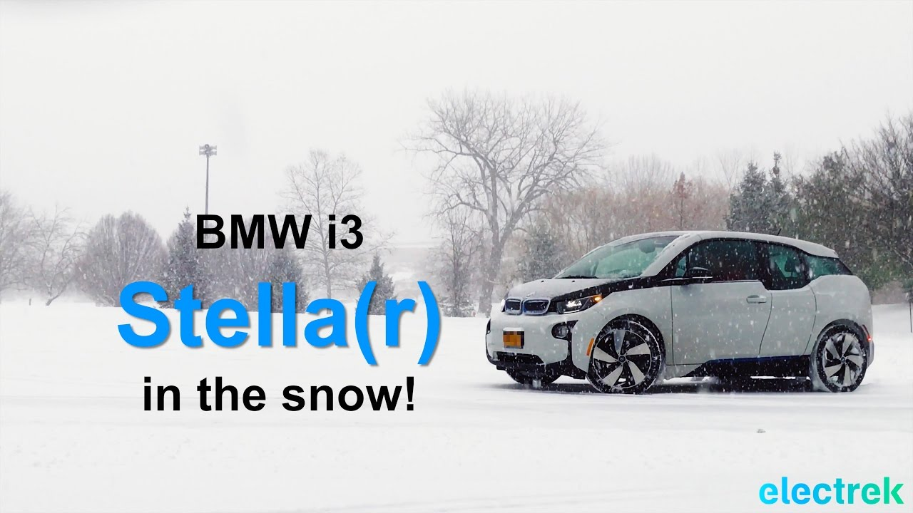 Bmw I3 Is Stella R In The Snow On All Season Tires Youtube