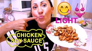 POLLO FRITTO DIETETICO con POCHE CALORIE !!! | Carlitadolce - Soya Chicken