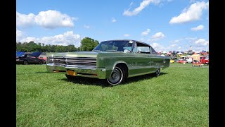 1968 Chrysler 300 2 Door in Green & 440 Engine Sound on My Car Story with Lou Costabile