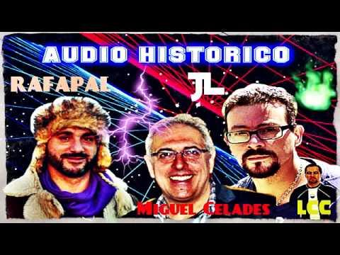 Audio histórico: JL, Rafapal, Luis Carlos Campos y Miguel Celades juntos en ONDA CERO