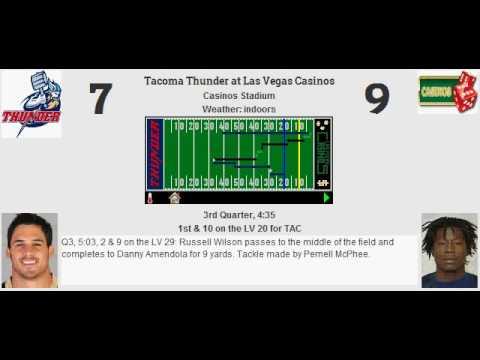 Preaseson: Tacoma Thunder @ Las Vegas Casinos