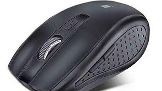 iBall FreeGo G18 Wireless Optical Mouse Unboxing and Review in Hindi