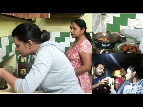Cooking With Mother in Law|| Yummy Veg Sizzlers|| Our Fruit Shake Date