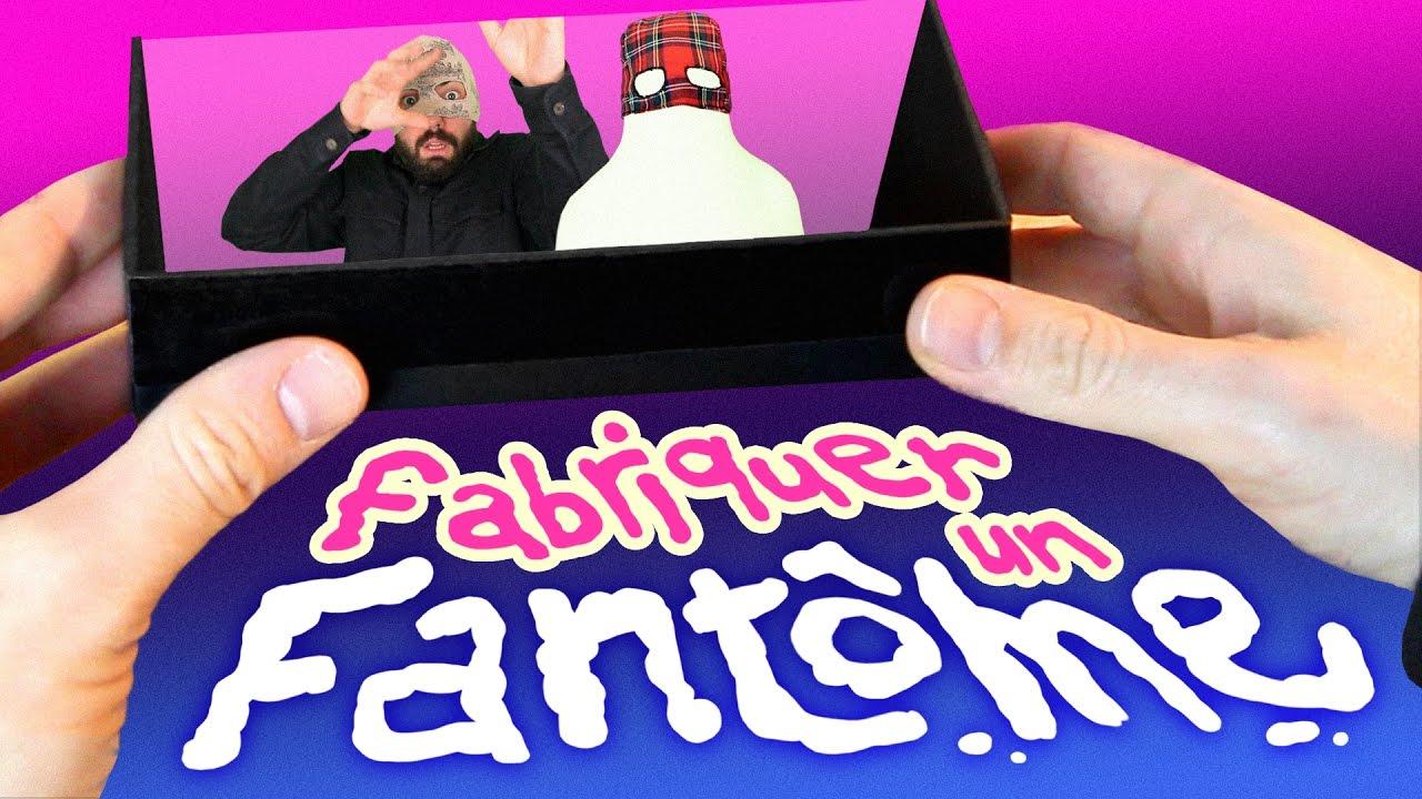 Fabriquer un fant me copain du web 6 youtube - Fabriquer un fantome halloween ...