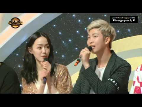 160701 Duet Song Festival BTS Rap Monster fanboy of Kim Yoon Ah cut