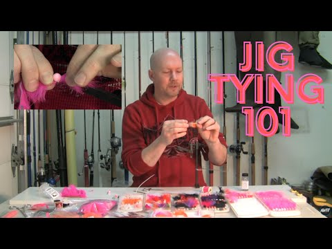 Steelhead and Salmon Jig Tying 101