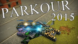 Tanki Online PARKOUR EXTREME 2015 (Best Of)