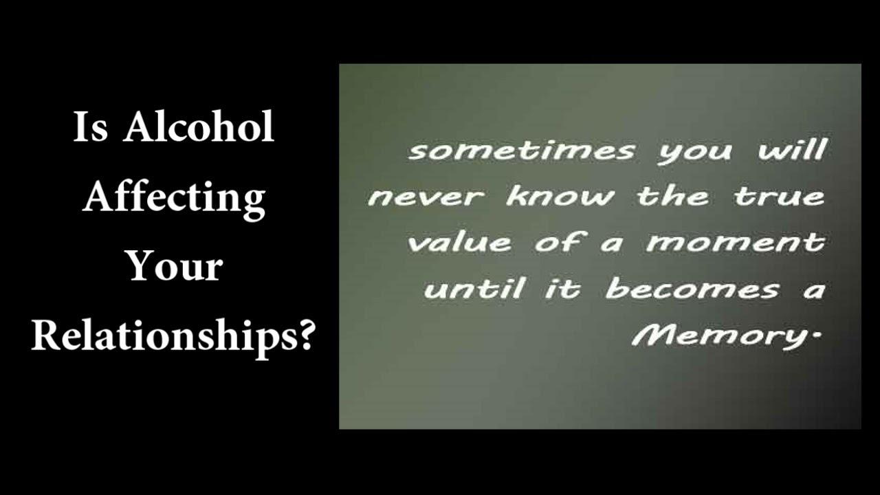 Alcoholic relationship