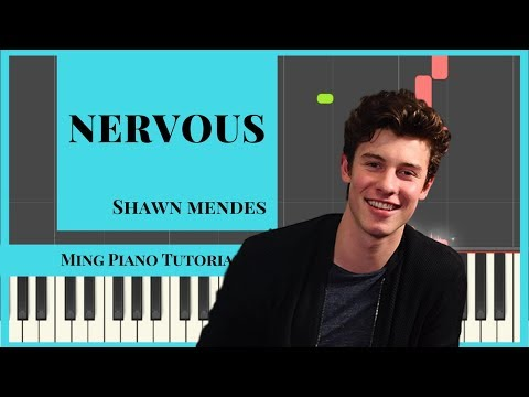 Nervous - Shawn Mendes Piano Cover Tutorial (MIDI & SHEETS) Ming Piano Tutorial