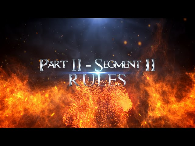 Spiritual Warfare and Communism Part 02 Segment 02 Rules
