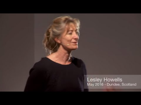 Synergy between people and place   Lesley Howells   TEDxDundee