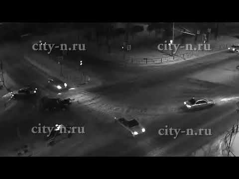 Серьёзное ДТП в Новокузнецке