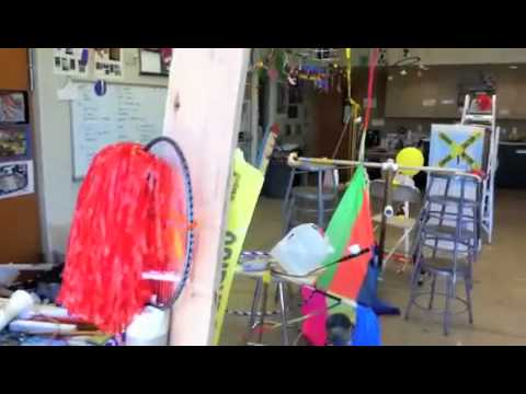 Rube Goldberg Variations at Kent Denver School Summer Arts