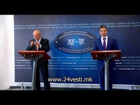 Заменик министерот за надворешни работи на Естонија во посета на Македонија