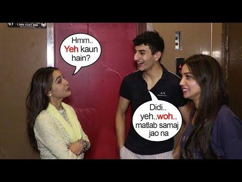 Sara Ali Khan Makes FUN of Brother Ibrahim Ali Khan & His Girlfriend as she Spots them during Kalank Mp3