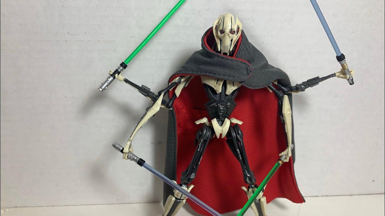 Hasbro Star Wars Revenge Of The Sith General Grievous Deluxe Action Figure Action Figures