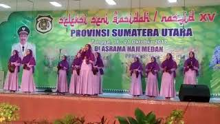 PUJA SYARMA l Masa Remaja Festival Nasyid Sumut 2017
