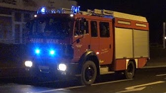 VRW + LF 16/12 + RW FF Meuselwitz + LF 10/10 FF Wintersdorf + Sanitätsdienst ASB Gera