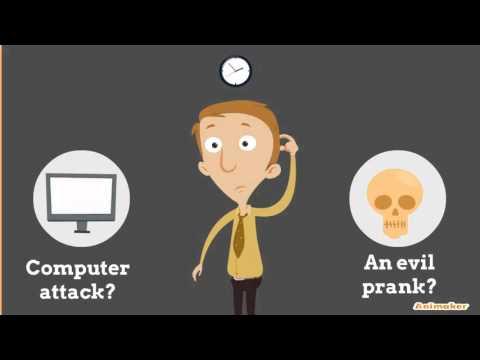 Computer Security - Data Breach Intro Animation