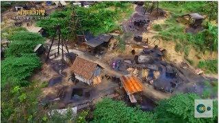 원유를 캐서 생계를 이어가는 인도네시아 워노졸로 마을 사람들