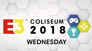 E3 Coliseum 2018 Wednesday:  Call of Duty Black Ops 4, Marvel's Spider-man, Fortnite and more!
