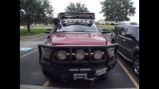 Custom Built Truck rack