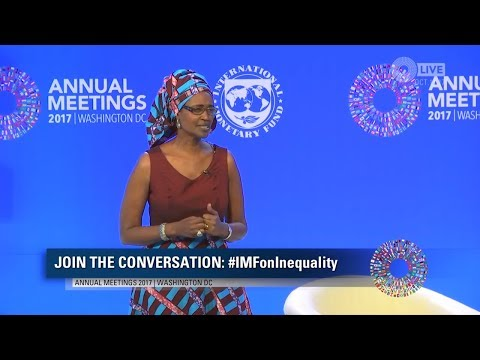 How Much Inequality Can We Live With? | IMFAnnual Meeting -Winnie Byanyima