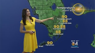 CBSMiami.com Weather @ Your Desk 8-21-18 12PM