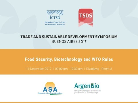 Food Security, Biotechnology and WTO Rules