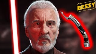 What Happened to Dooku's Lightsaber After his Death - Explain Star Wars