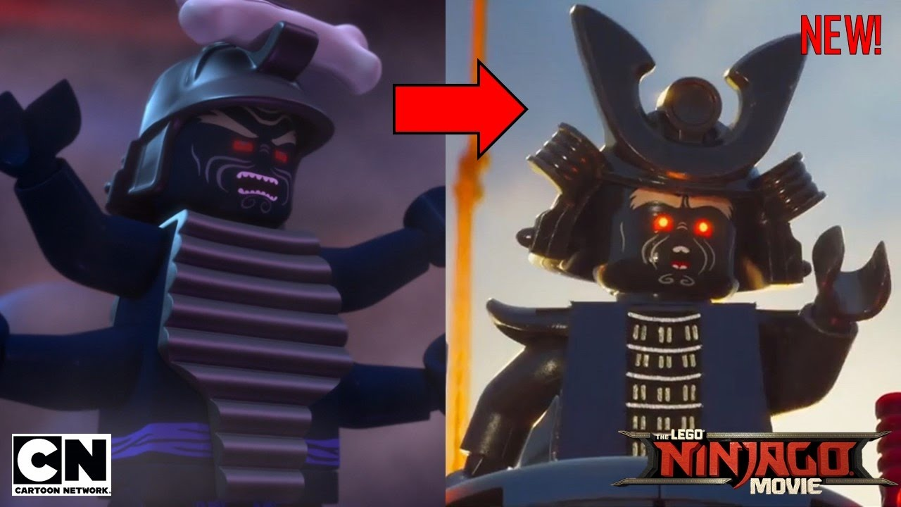 The lego ninjago movie differences compared to the tv show youtube - Ninjago vs ninjago ...