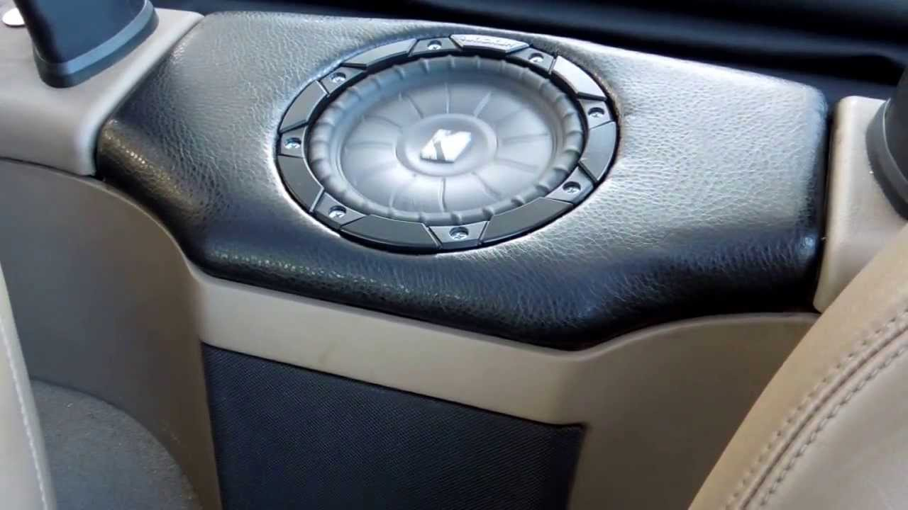Fs 6 5 Quot Single Subwoofer Enclosure For Bmw Z3 Roadster